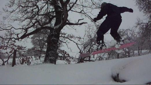 ...and a good snowbarding spot (well, paul did!)