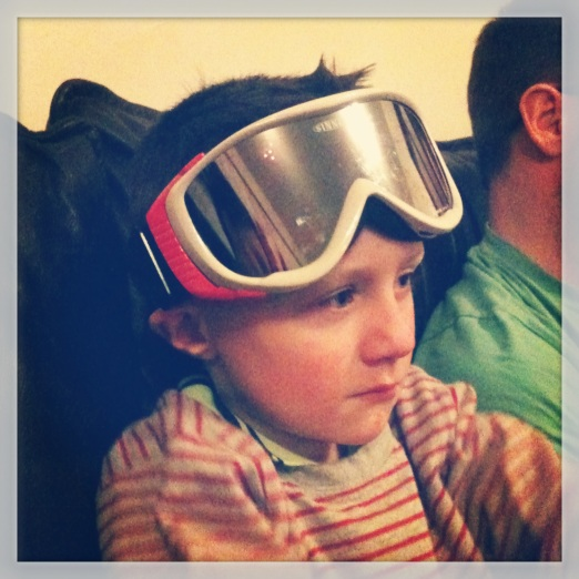 ...sat with these on his head until bedtime...??!!