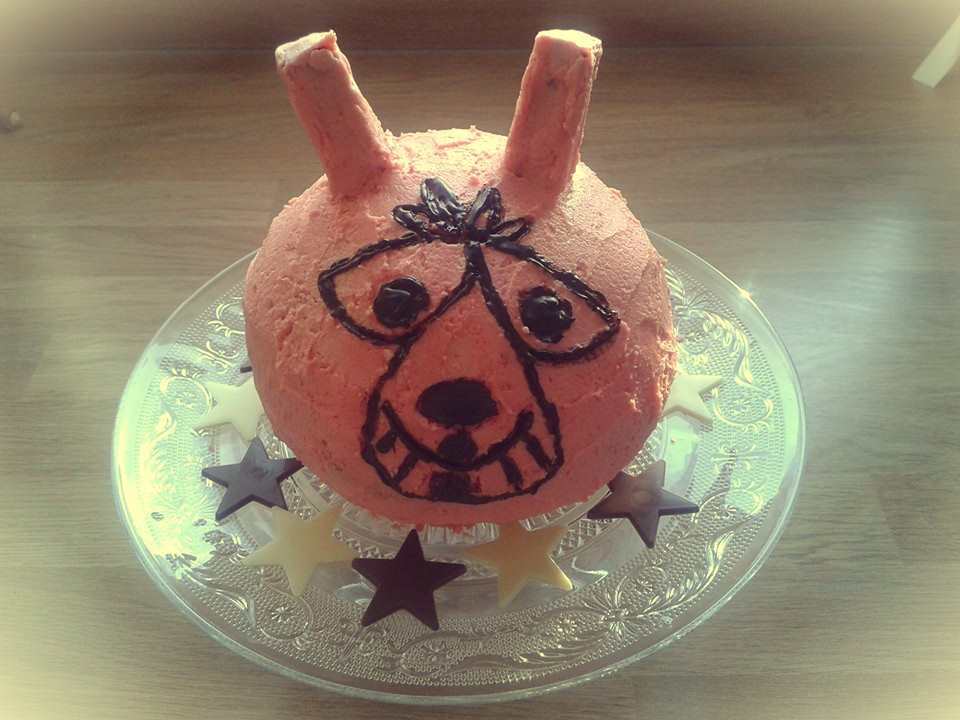 space hopper cake