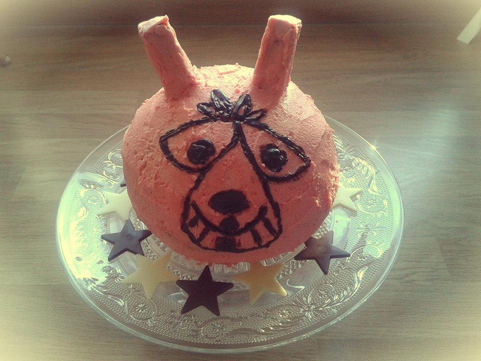 space hopper cake