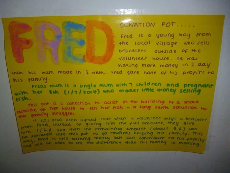 Freds story