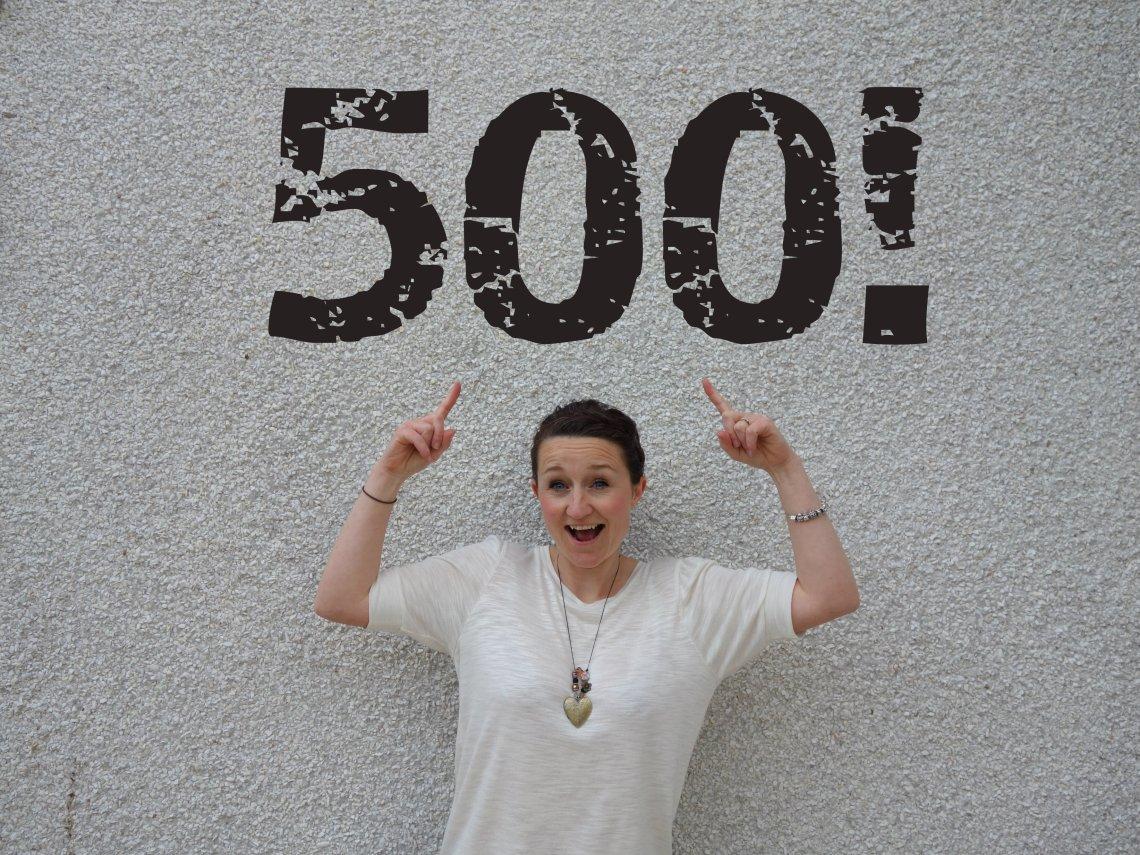 celebrating 500 posts