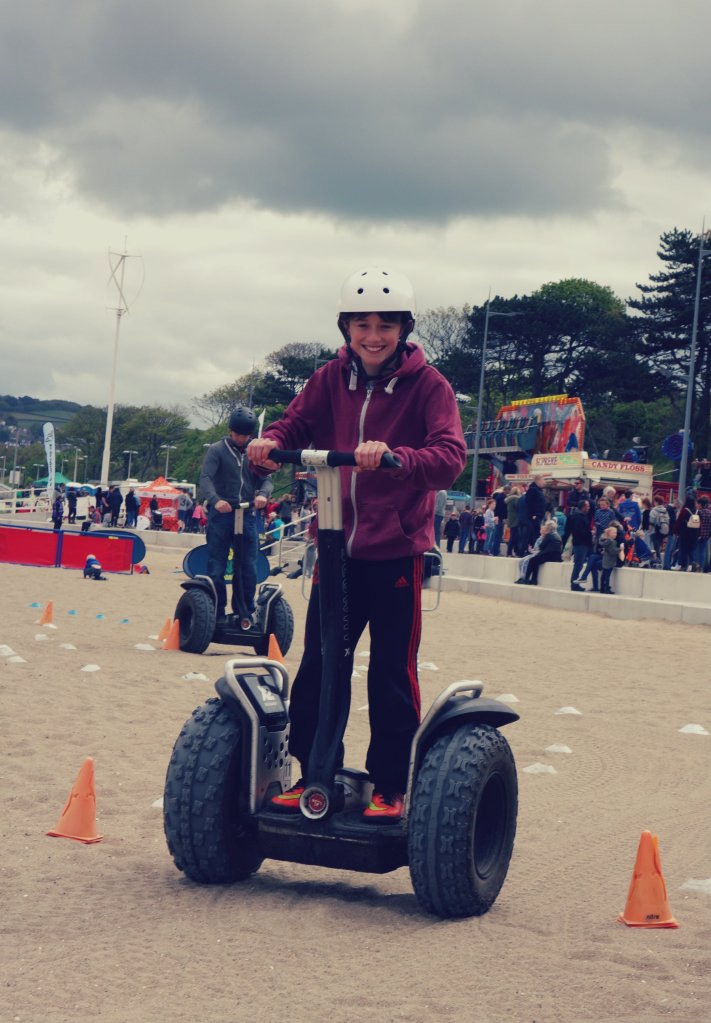robb on segway