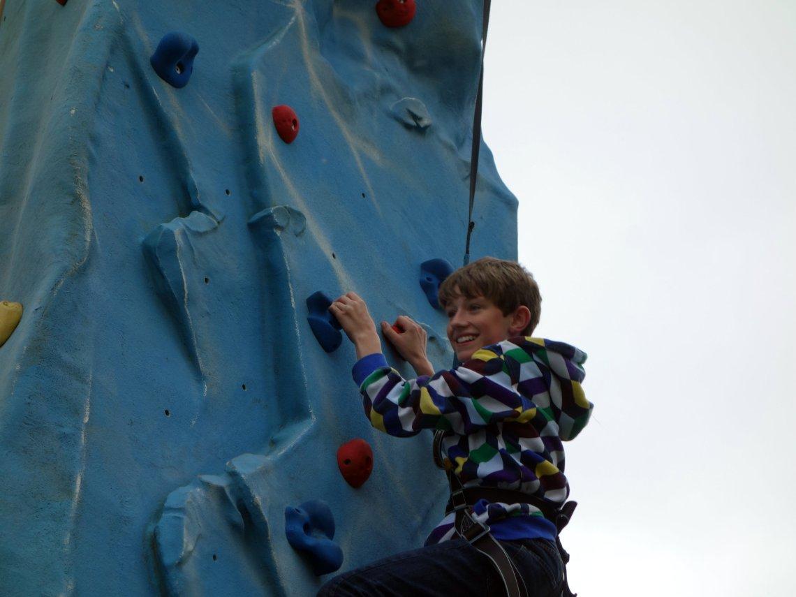 climbing wll